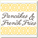Pancakes & Frenchfries